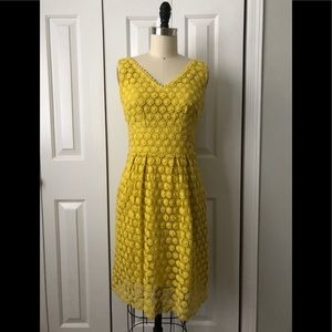 Crochet yellow sundress